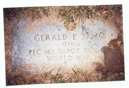JAMES, GERALD E. - Pottawattamie County, Iowa | GERALD E. JAMES