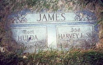 JAMES, HULDA JANE - Pottawattamie County, Iowa | HULDA JANE JAMES
