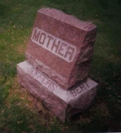 JEFFERS, BERT - Pottawattamie County, Iowa | BERT JEFFERS