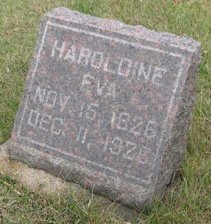 JENSEN, HAROLDINE EVA - Pottawattamie County, Iowa | HAROLDINE EVA JENSEN