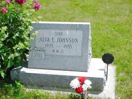 JOHNSON, ALVA E. - Pottawattamie County, Iowa | ALVA E. JOHNSON