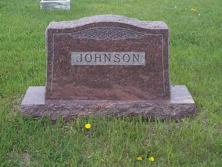 JOHNSON, FAMILY MARKER - Pottawattamie County, Iowa | FAMILY MARKER JOHNSON