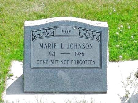 JOHNSON, MARIE L. - Pottawattamie County, Iowa | MARIE L. JOHNSON