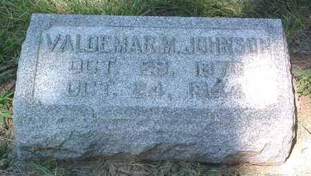 JOHNSON, VALDEMAR M. - Pottawattamie County, Iowa | VALDEMAR M. JOHNSON