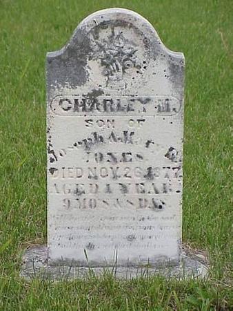 JONES, CHARLEY M. - Pottawattamie County, Iowa   CHARLEY M. JONES