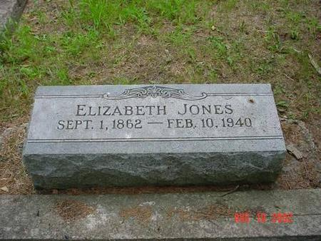 JONES, ELIZABETH - Pottawattamie County, Iowa | ELIZABETH JONES