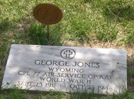 JONES, GEORGE - Pottawattamie County, Iowa | GEORGE JONES