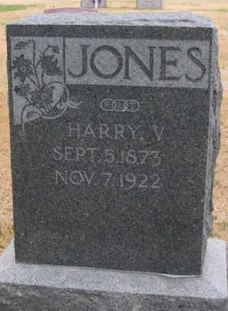 JONES, HARRY V. - Pottawattamie County, Iowa | HARRY V. JONES