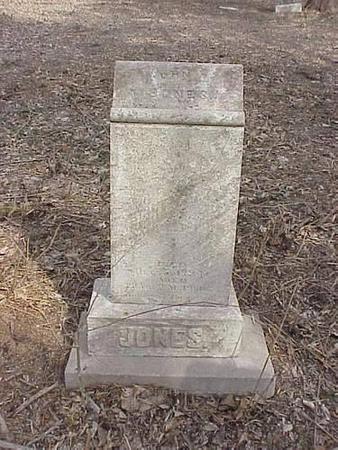 JONES, JOHN GREEN JR. - Pottawattamie County, Iowa | JOHN GREEN JR. JONES