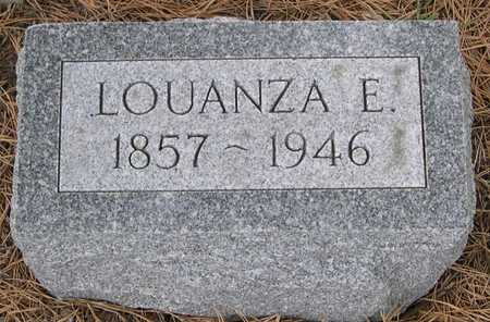 JONES, LOUANZA E. - Pottawattamie County, Iowa | LOUANZA E. JONES