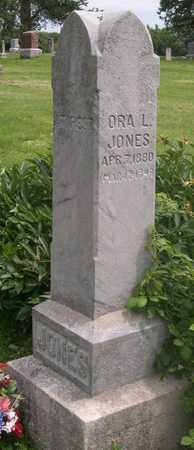 JONES, ORA L. - Pottawattamie County, Iowa | ORA L. JONES