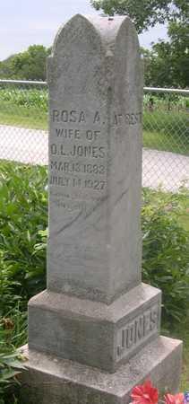 JONES, ROSA - Pottawattamie County, Iowa   ROSA JONES