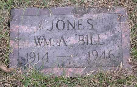 JONES, WILLIAM A. 'BILL' - Pottawattamie County, Iowa | WILLIAM A. 'BILL' JONES