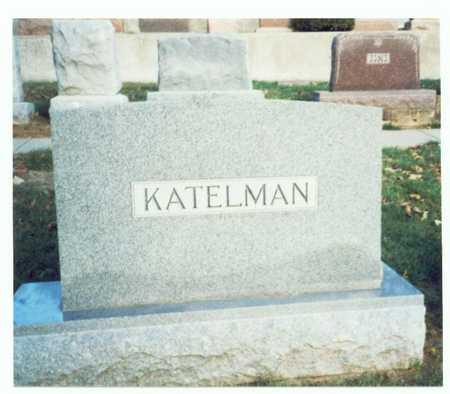 KATELMAN, FAMILY MARKER 4 - Pottawattamie County, Iowa | FAMILY MARKER 4 KATELMAN