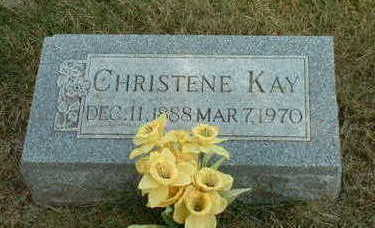 KAY, CHRISTENE - Pottawattamie County, Iowa | CHRISTENE KAY