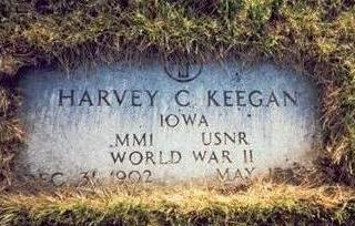 KEEGAN, HARVEY C. - Pottawattamie County, Iowa | HARVEY C. KEEGAN