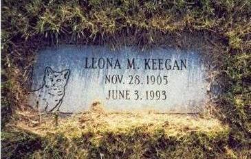 KEEGAN, LEONA M. - Pottawattamie County, Iowa | LEONA M. KEEGAN