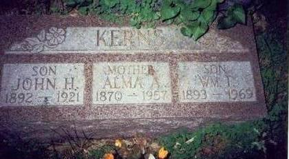 KERNS, ALMA A. - Pottawattamie County, Iowa | ALMA A. KERNS