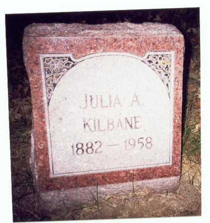 KILBANE, JULIA A. - Pottawattamie County, Iowa | JULIA A. KILBANE