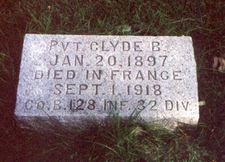 KILGORE, CLYDE B. - Pottawattamie County, Iowa | CLYDE B. KILGORE