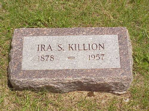 KILLION, IRA S. - Pottawattamie County, Iowa | IRA S. KILLION