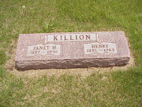 KILLION, JANET M. & HENRY - Pottawattamie County, Iowa | JANET M. & HENRY KILLION