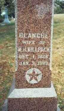 KILLPACK, BLANCHE - Pottawattamie County, Iowa | BLANCHE KILLPACK