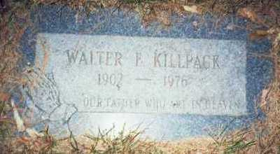 KILLPACK, WALTER F. - Pottawattamie County, Iowa | WALTER F. KILLPACK