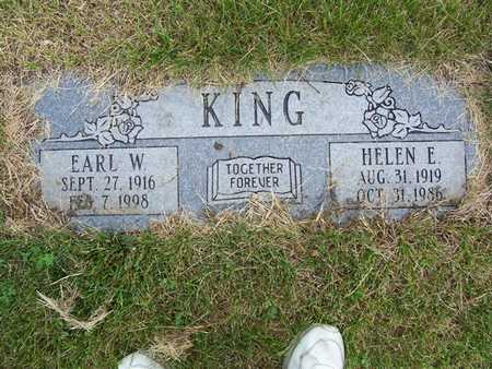 KING, EARL W. - Pottawattamie County, Iowa | EARL W. KING