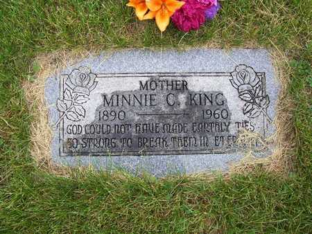 KING, MINNIE C. - Pottawattamie County, Iowa | MINNIE C. KING