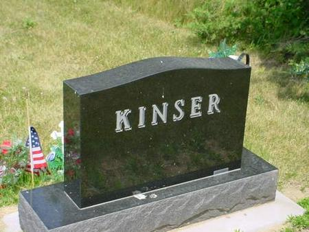 KINSER, FRED ALAN - Pottawattamie County, Iowa | FRED ALAN KINSER