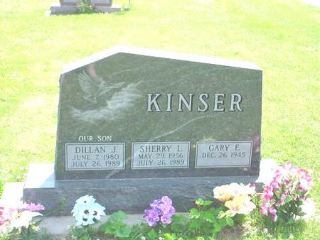 KINSER, GARY E. - Pottawattamie County, Iowa | GARY E. KINSER