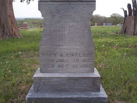 KIRKLAND, MARY - Pottawattamie County, Iowa | MARY KIRKLAND