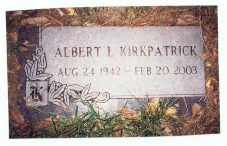 KIRKPATRICK, ALBERT L. - Pottawattamie County, Iowa | ALBERT L. KIRKPATRICK