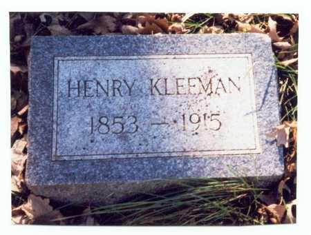 KLEFMAN, HENRY - Pottawattamie County, Iowa | HENRY KLEFMAN