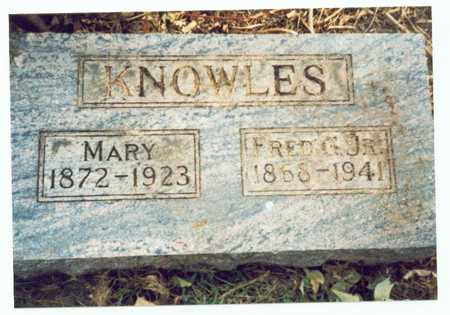KNOWLES, MARY - Pottawattamie County, Iowa | MARY KNOWLES