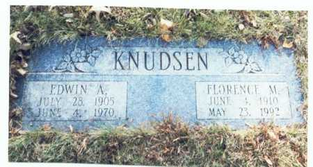KNUDSEN, EDWIN AUGUST - Pottawattamie County, Iowa | EDWIN AUGUST KNUDSEN