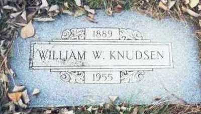 KNUDSEN, WILLIAM W. - Pottawattamie County, Iowa | WILLIAM W. KNUDSEN