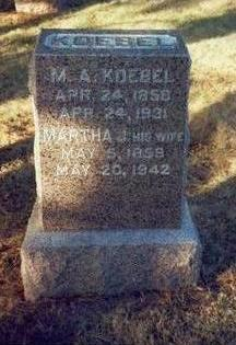 KOEBEL, MARTHA J. - Pottawattamie County, Iowa | MARTHA J. KOEBEL
