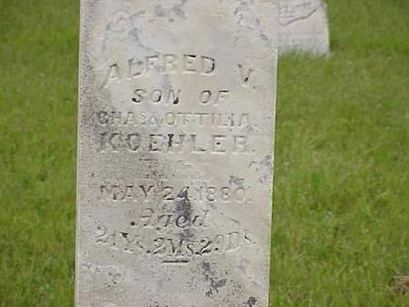 KOEHLER, ALFRED V. - Pottawattamie County, Iowa | ALFRED V. KOEHLER
