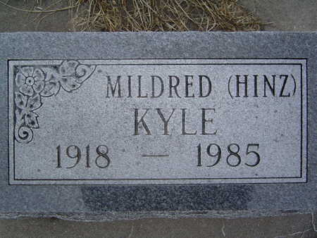 HINZ KYLE, MILDRED - Pottawattamie County, Iowa | MILDRED HINZ KYLE
