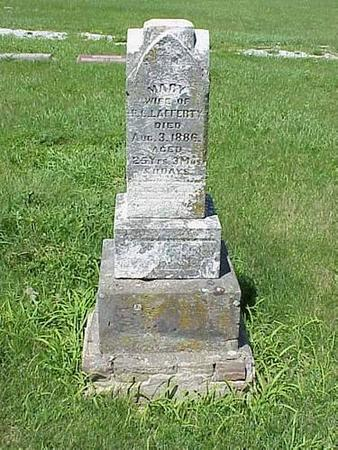 LAFFERTY, HEADSTONE - Pottawattamie County, Iowa | HEADSTONE LAFFERTY