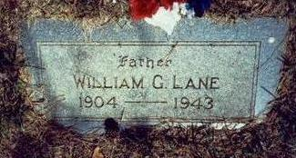 LANE, WILLIAM G. - Pottawattamie County, Iowa | WILLIAM G. LANE