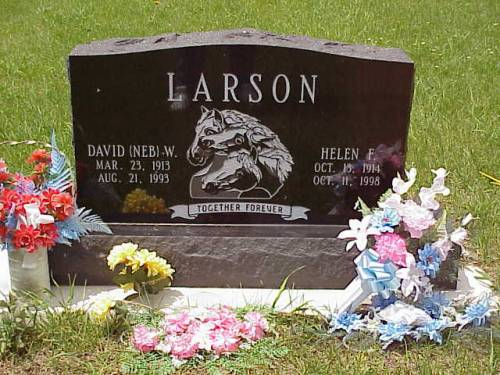 LARSON, DAVID  W. [NEB] & HELEN F. - Pottawattamie County, Iowa | DAVID  W. [NEB] & HELEN F. LARSON