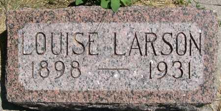 LARSON, LOUISE - Pottawattamie County, Iowa   LOUISE LARSON