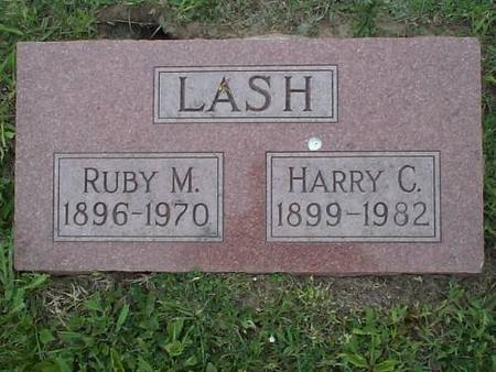 LASH, RUBY M. AND HARRY C. - Pottawattamie County, Iowa | RUBY M. AND HARRY C. LASH