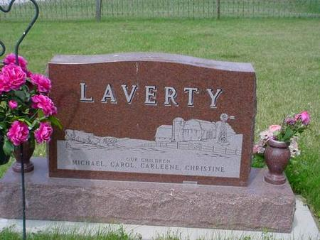 LAVERTY, CARL F. RIEPE - Pottawattamie County, Iowa | CARL F. RIEPE LAVERTY