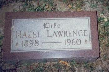 LAWRENCE, HAZEL - Pottawattamie County, Iowa | HAZEL LAWRENCE