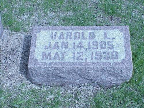 LEADER, HAROLD L. - Pottawattamie County, Iowa | HAROLD L. LEADER