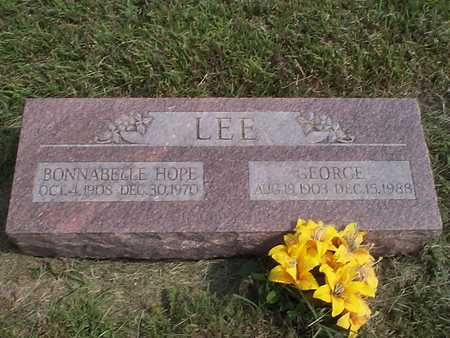 LEE, BONNABELLE HOPE - Pottawattamie County, Iowa | BONNABELLE HOPE LEE